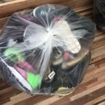 bag of used shoes